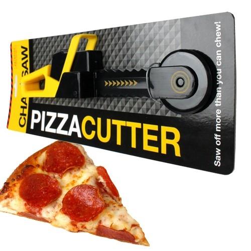 Cadeautip chainsaw pizza cutter