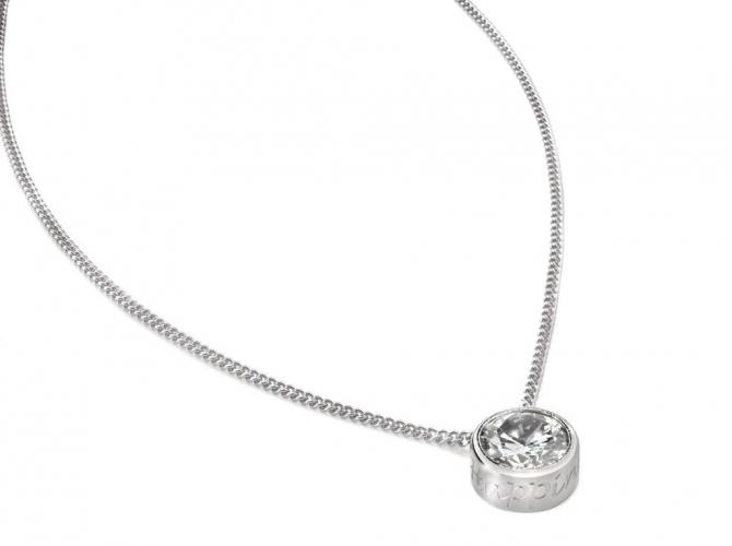 Cadeautip speechless jewelry ketting witgoud