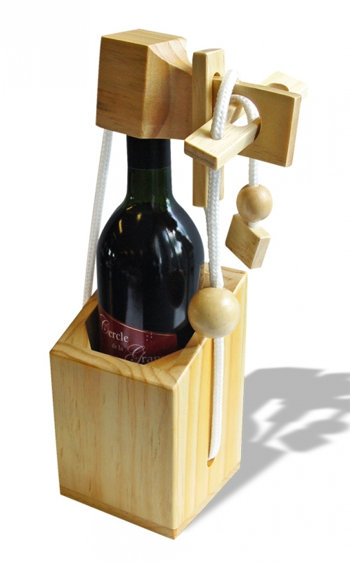 Cadeautip the challenger wine puzzle wijn puzzel