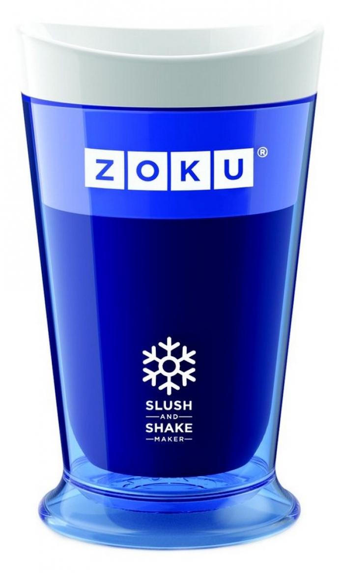 Cadeautip zoku slush shake maker blauw