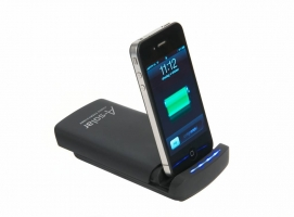 Cadeau A solar power dock am 406 (accu) voor iphone/ipad