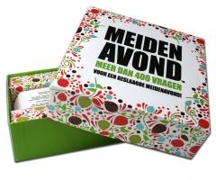 Cadeau Meidenavond kaartspelletje