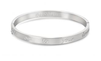 Cadeau Speechless Jewelry - Armband - witgoud
