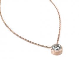 Cadeau Speechless Jewelry - Ketting - roségoud