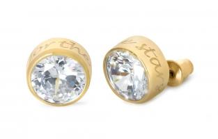 Cadeau Speechless Jewelry - Oorbellen - geelgoud
